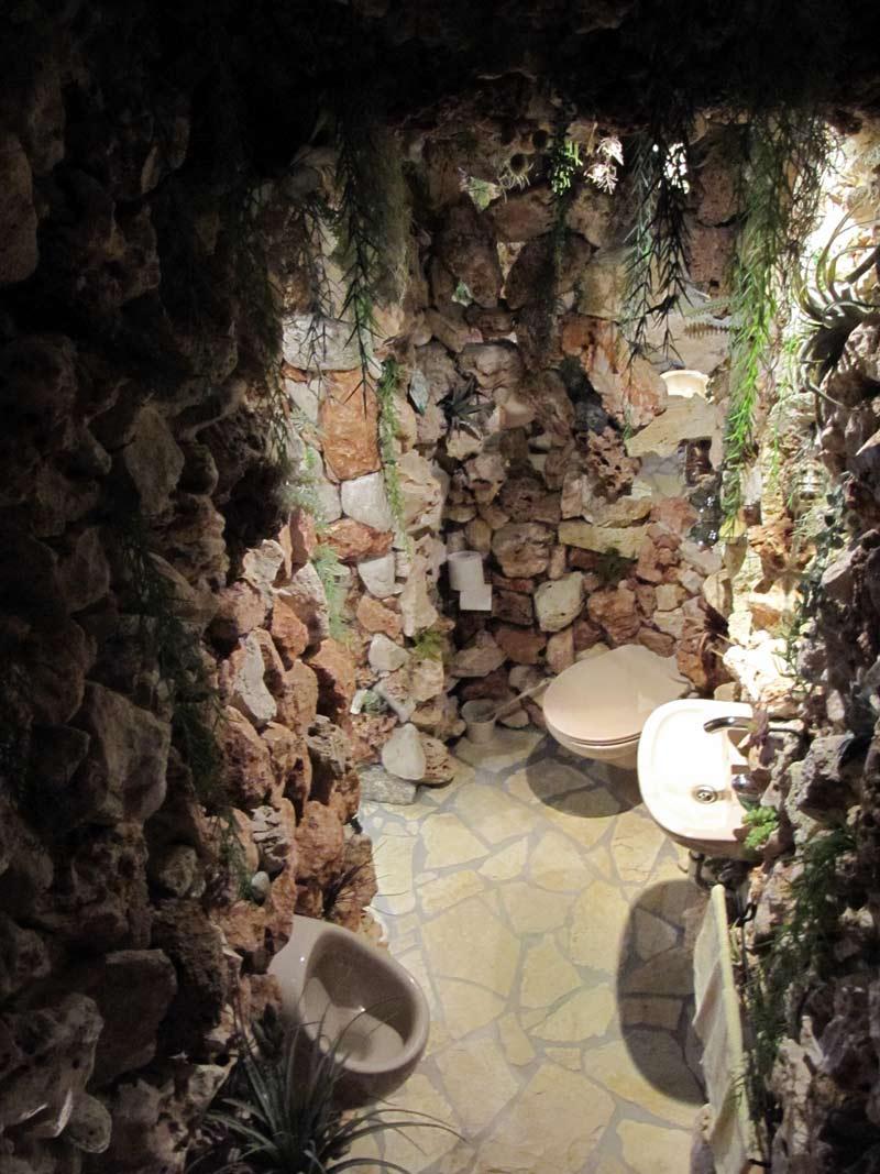 Wohnraumgestaltung: Grotten WC